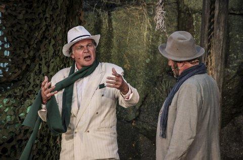 Anders Hatlos som Stjærten og Terje Brevik som instruktør. (Foto: John Johansen)