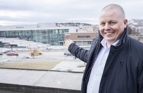 HOTELLSJEF: Terje Theodorsen, hotellsjef på Scandic Narvik, mener vi får et helt nytt sentrum.