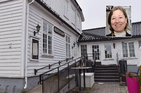 NYÅPNING: Gry Jemtland ser frem til å starte et nytt kapittel. Hun skal nå drive selskapet Marinegården Steak House AS alene.