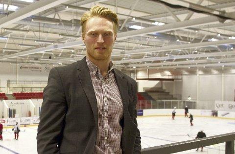 KLAR: Kim André Fremming er mer enn klar for en ny sesong med Knights. Foto: Henrik Holter
