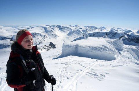 – Jeg hadde ikke vært her hadde det ikke vært for Høgruta, sier Helga Øygard Skodvin, fra Nordfjord folkehøgskole.