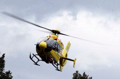 REDNINGEN: 620 henvendelser til luftambulansen i Oppland hittil i år.