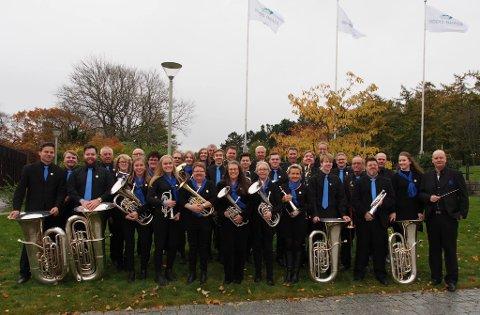 BEHOLDT PLASSEN: Brøttum Brass sikret plassen blant de nest neste brass-korpsene i Norge.