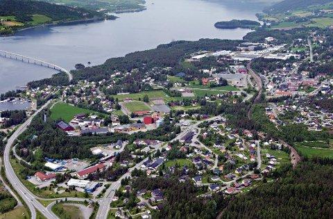 HER SKAL BYEN LIGGE: Et nytt Mjøssykehus ved Mjøsbrua er mer realistisk enn noen gang.