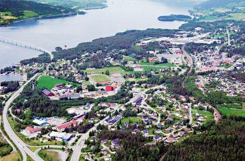 INGEN ENDRING: Flertallet i fylkestinget holder fast på hovedsykehus ved Mjøsbrua