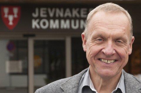 Ordfører: Lars Magnussen. Arkivfoto: Ringerikes blad