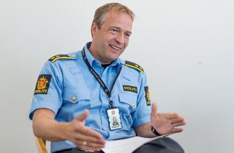 KLAR: Morten Lafton tar pause fra politiet hvis han blir valgt til ny ordfører i Jevnaker.