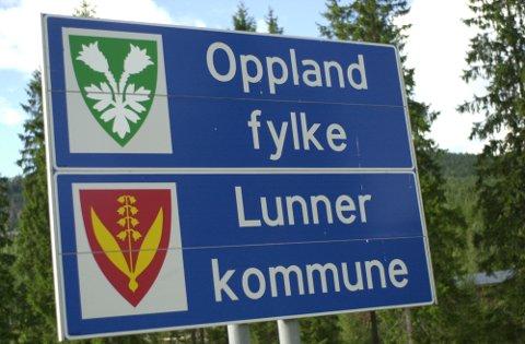 GJELDER IKKE LENGER: Lunner kommune er ikke lenger i Oppland fylke, men i Viken. Dermed kan elever fra Lunner få Bjertnes som sin nærskole og konkurrere med nittedalselever om skoleplass fra høsten av.