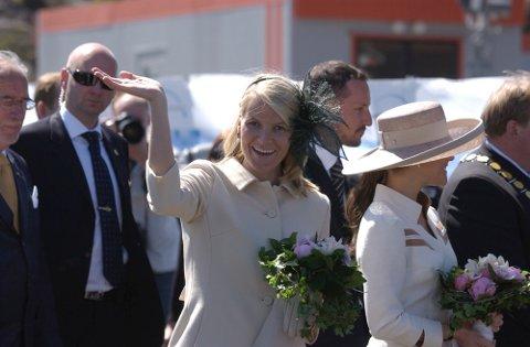 Dig. bilde Åpning av den nye Svinesundbrua. Med Kronprinsesse Mette-Marit og Kronprinsesse Victoria