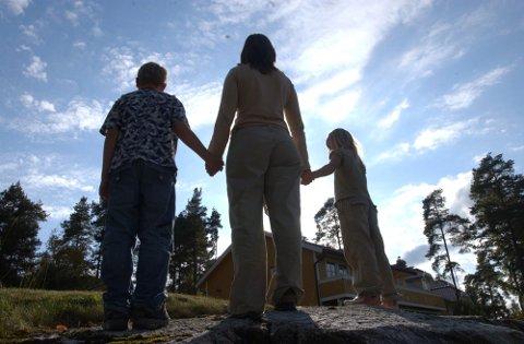 SLITER: Barnevernet i Aremark fikk inn 30 bekymringsmeldinger i 2016. Det er rekordmange. Illustrasjonsfoto.