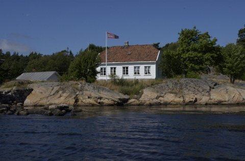 TILBUD TIL BARNEFAMILIER: Ti barnefamilier fra Halden skal i løpet av sommeren få tilbringe en uke på Skipperstua på Makø.