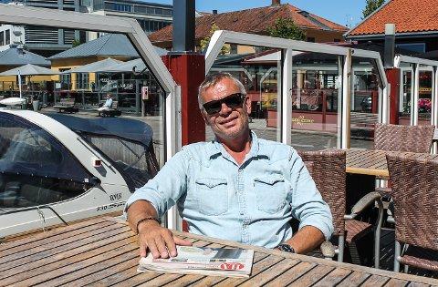 Vil tenke stort: Vi må tenke nytt og større for at Mat- og Havnefestivalen skal bli en folkefest igjen, mener dag Gulbrandsen.