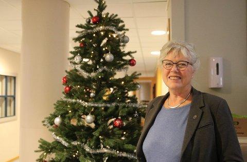Ordfører Anne Kari Holm er glad for erfaringene hun har fått gjennom 2020, men tenker mye på alle som har blitt nær påvirket av pandemien.