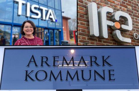 LEDIGE JOBBER: Institutt for energiteknikk, Aremark kommune og senterleder Britt Brattli på Tista trenger folk. På nav.no ligger det 83 ledige stillinger med arbeidssted i Halden eller Aremark på tampen av året.
