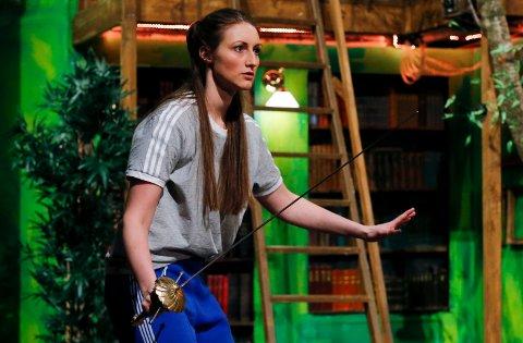 "HAUGESUNDER: Helene Skogland spilte Wendy i ""Peter Pan""."