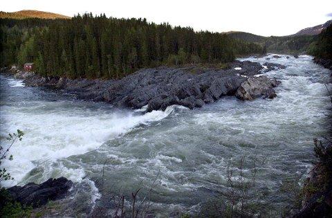 VEFSNA: Vefsna er vernet. Et flertall i fylkestinget vil ikke ha en omkamp av vernet av elva.