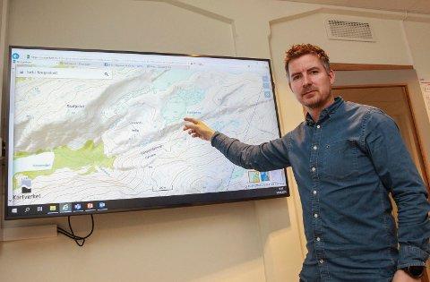 Torkil Nersund, HKs konserndirektør for vannkraft, håper å være ferdig med Vassenden-prosjektet i august.