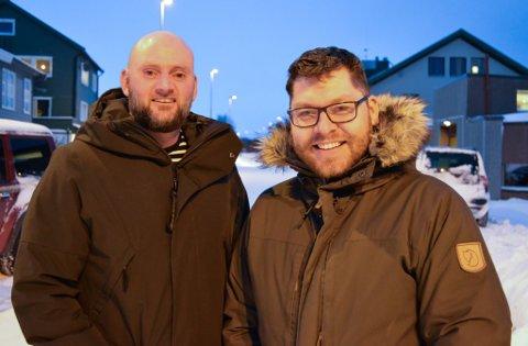 STEPPER INN: André Kvernhaug er ydmyk over å få lede årets festival, mens Robert Lundgren er ute i pappapermisjon.