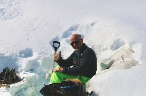 FOR MYE RESSURSBRUK: Børre Steinar Børresen stiller spørsmålstegn ved ressursbruken til lovens lange arm hva gjelder å kontrollere snøscootertrafikken.