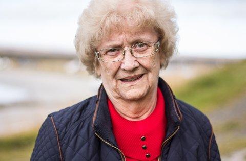 FORTVILET: Bjørg Irene Hansen er fortvilet over prosessen for den nye adressen.
