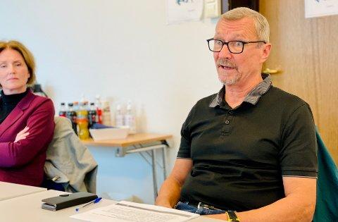 En alvorstung Bård Haugen møtte kommunens arbeidsmiljøutvalg tirsdag.