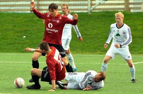 Valdres fikk ikke medhold av NFF Oslo etter protesten etter 1-1-kampen mot Hallingdal. Her fra kampen mot AHFK i vår.