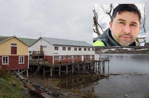 KJØPER: Gentjan Kryeziu ønsker ikke å gå ut med hvor mye han kjøpte egnebu-bygget for, men forteller at han har brukt egne midler. Nå skal det få nytt liv og bygda skal få flere nye arbeidsplasser, lover han.