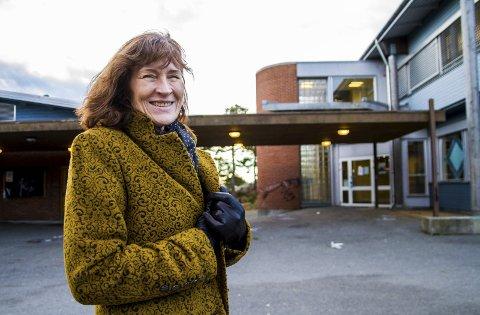 REKTOR: Anne Drage, rektor ved Risør ungdomsskole.
