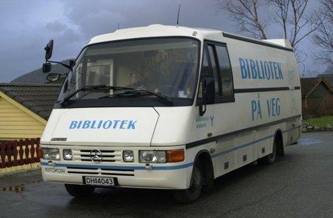 Den gamle bokbussen blei teken ut av drift tidleg i år. Den nye lar venta på seg.