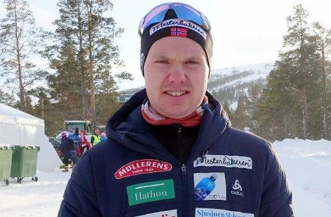 Martin Femsteinevik klarte seg bra då han var ekspertkommentator og studiogjest på NRK under VM i skiskyting.