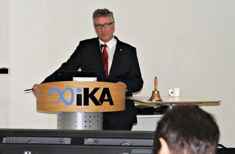 SINT: Ordfører Vidar Lande ble svært skuffet over meldingen om at Kongsberg kastes ut av Buskerudbyen.