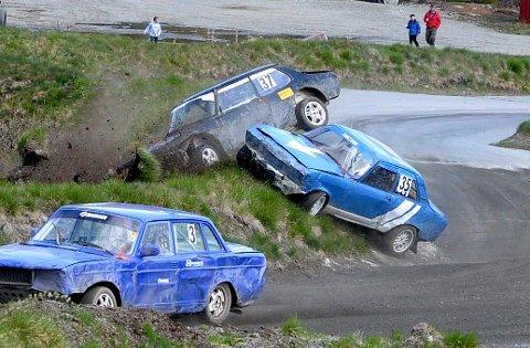 ACTION: Bilsporten byr på action og sosialt samvær i Nore og Uvdal.