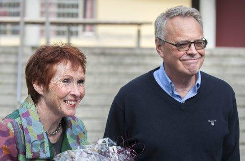PURREBREV: Ordfører Kari Anne Sand og varaordfører Kjell Gunnar Hoff har purret på Vestre Viken om svar vedrørende en evaluering av sykehustilbudet.