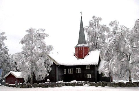 Flere har meldt seg ut av kirken i Flesberg sogn. Her ser vi Flesberg kirke.