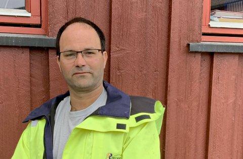 DAGLIG LEDER: Rune Tangen Andersen er daglig leder for Rollag Elektrisitetsverk.