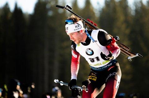 FRISKMELDT: Erlend Øvereng Bjøntegaard er bedre i ryggen og håper å gå verdenscup til uka. Foto: Berit Roald / NTB