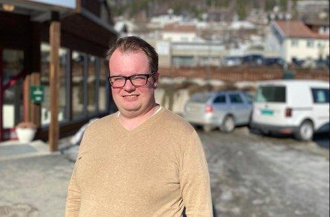 NY JOBB: Kristoffer Grette har fått ny jobb i Nore og Uvdal kommune.