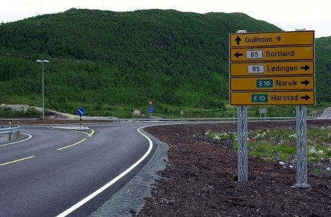 Går videre: Regjeringen setter av mer penger til Hålogalandsveien.