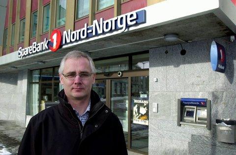 Ny banksjef: Geir Bringsli er  tilsatt som ny banksjef for Finanssenter Lofoten, som opprettes av Sparebank 1 Nord-Norge fra nyttår, og som vil omfatte bankens avdelinger både i Svolvær og Leknes.Foto: Knut Johansen