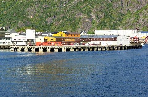 Det opprinnelige fiskebruket på Bekkholmen ble ombygd til hotell på 80-tallet.
