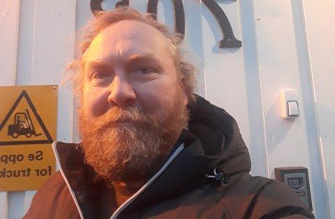 Julebonus: Driftssjef i Flakstad, Frode Nygaard, var en av mange heldige ansatte i Ellingsen Seafood.