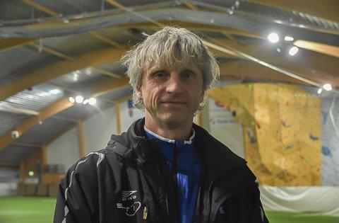 Glad: Sportslig leder i Svolvær IL, Petter Solli, er glad for at politikerne har vedtatt å bygge ny hall på Stranda i Svolvær.