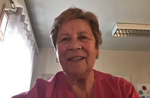 Randi Hennie Nilsen har drevet Hennies Helsesalong på Leknes siden 1976.