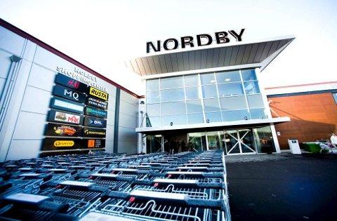 INGEN REKORD: Det ble omsatt for nesten 90 millioner kroner på Nordby Shoppingcenter fra 17.-21. mai.