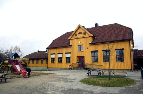 STOR BARNEHAGE: Klokkergården barnehage i Råde.