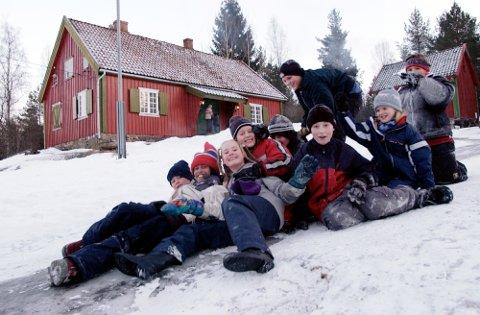Ødemørk: Ødemørkstua er et yndet utfartssted for innbyggerne i både Vestby og Moss.