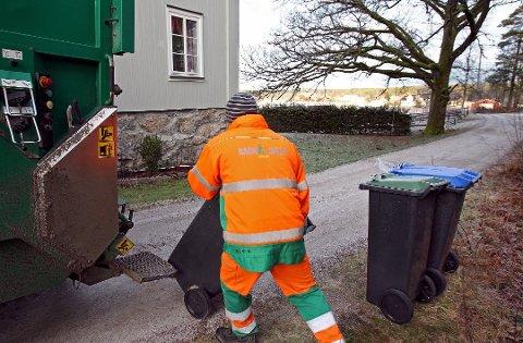 PÅSKEFRI: Det blir ingen tømming av søppel på de fem helligdagene i påsken. Det kjøres også andre dager enn vanlig før og etter dette.