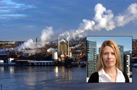 AKTIVT MARKED:  Siviløkonom og partner irekrutteringskjeden People of Norway, Anette Nustad, mener det finnes mange attraktive jobber i Moss.