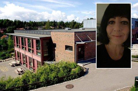 NY JOBB: 42-år gamle Kristin Pedersen er ansatt som ny rektor på Verket skole.Nå gleder hun seg til å begynne i den nye jobben og å slippe den lange reiseveien til Fredrikstad.