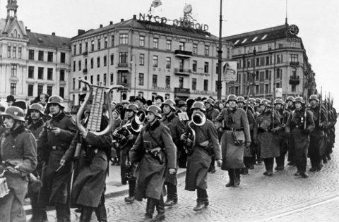 Den tyske invasjonen i Oslo 9. april 1940